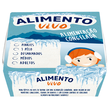 Alimento congelado